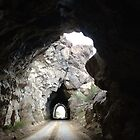 Color Photo of Old Train Tunnels in Colorado  by Marcie Alban