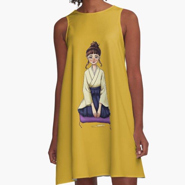 Rakugo Girl A-Line Dress