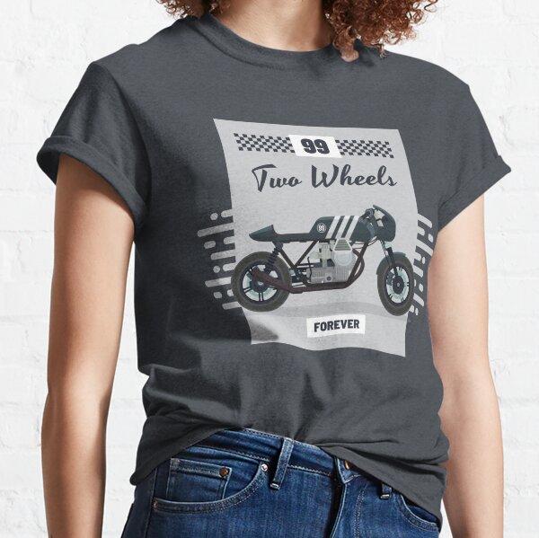 T-Shirt OLDSCHOOL BIKER Sind wir zu laut Club mc Chopper custom bike motorrad