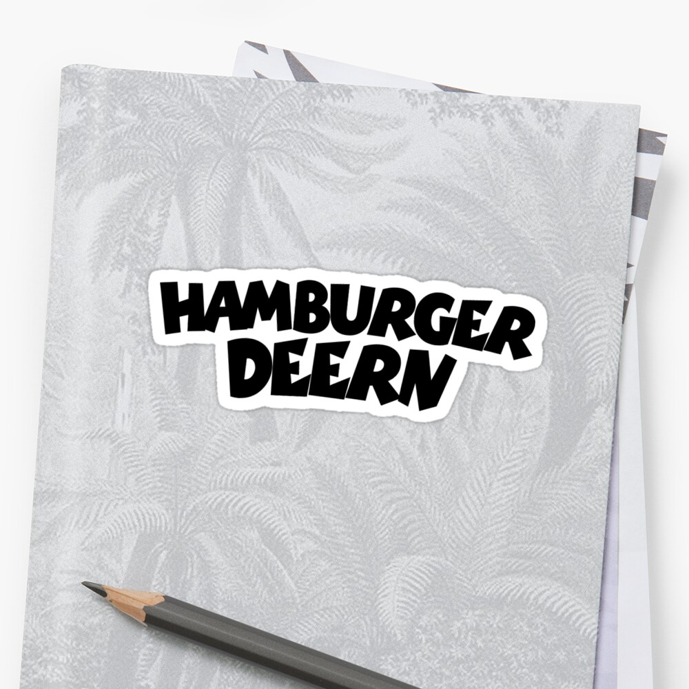 Hamburger Deern (Schwarz) by theshirtshops