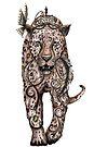 Leopard by Jenny Wood