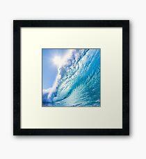 OCEAN WAVE 1 Framed Print