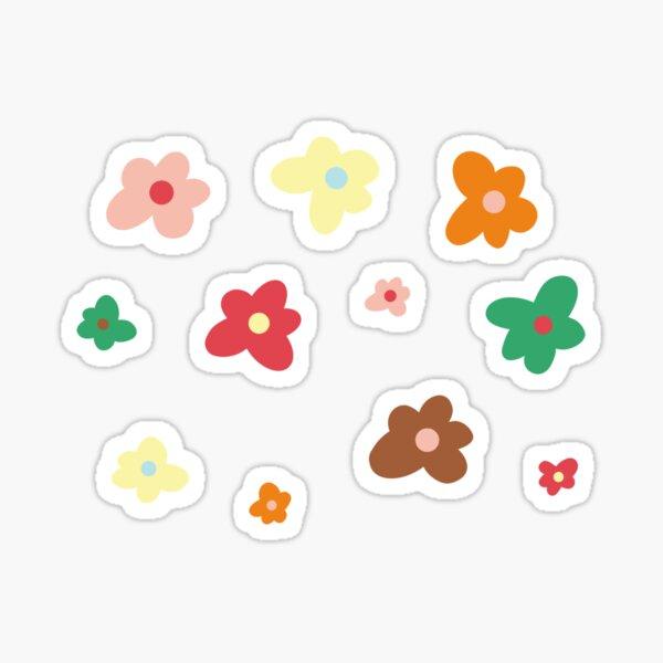 Alternate flower sticker set Sticker