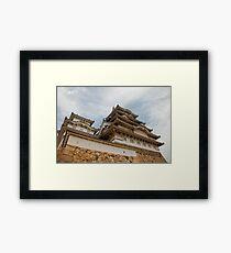 Himeji Castle, Kansai, Japan Framed Print