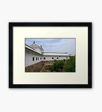 Building at Himeji Castle, Japan Framed Print