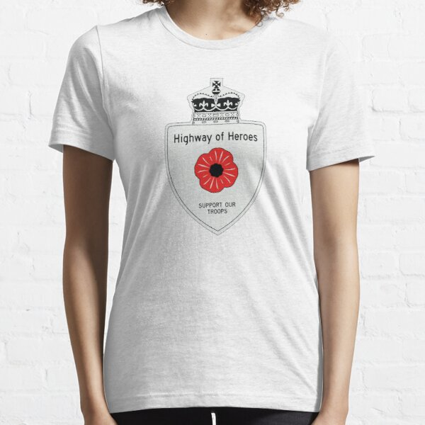 Highway of Heroes 401 Ontario Canada Essential T-Shirt