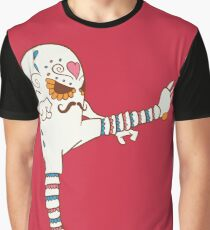 Hitmonlee Pokemuerto | Pokemon & Day of The Dead Mashup Graphic T-Shirt