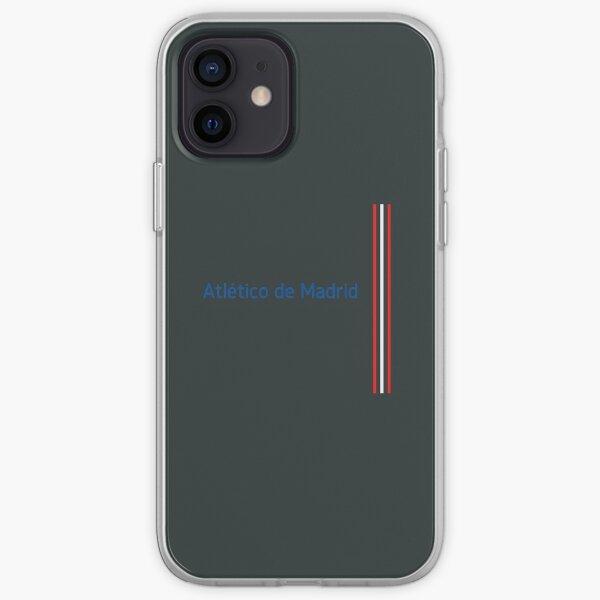 Atlético de Madrid España Funda blanda para iPhone