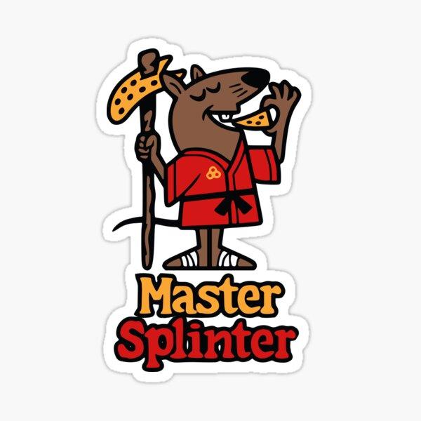 Master Splinter Sticker