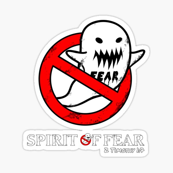 Fearbusters parody - distressed Sticker