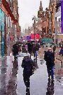Rainy Day in Glasgow by David Alexander Elder