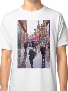 Rainy Day in Glasgow Classic T-Shirt