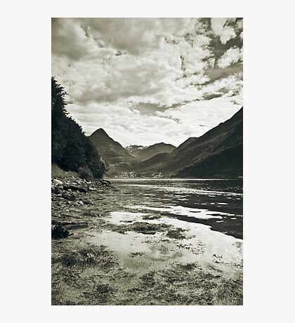See in mono Photographic Print