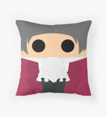 Miles Edgeworth Throw Pillow