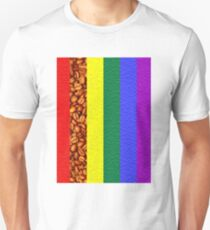 Coffee Rainbow Unisex T-Shirt