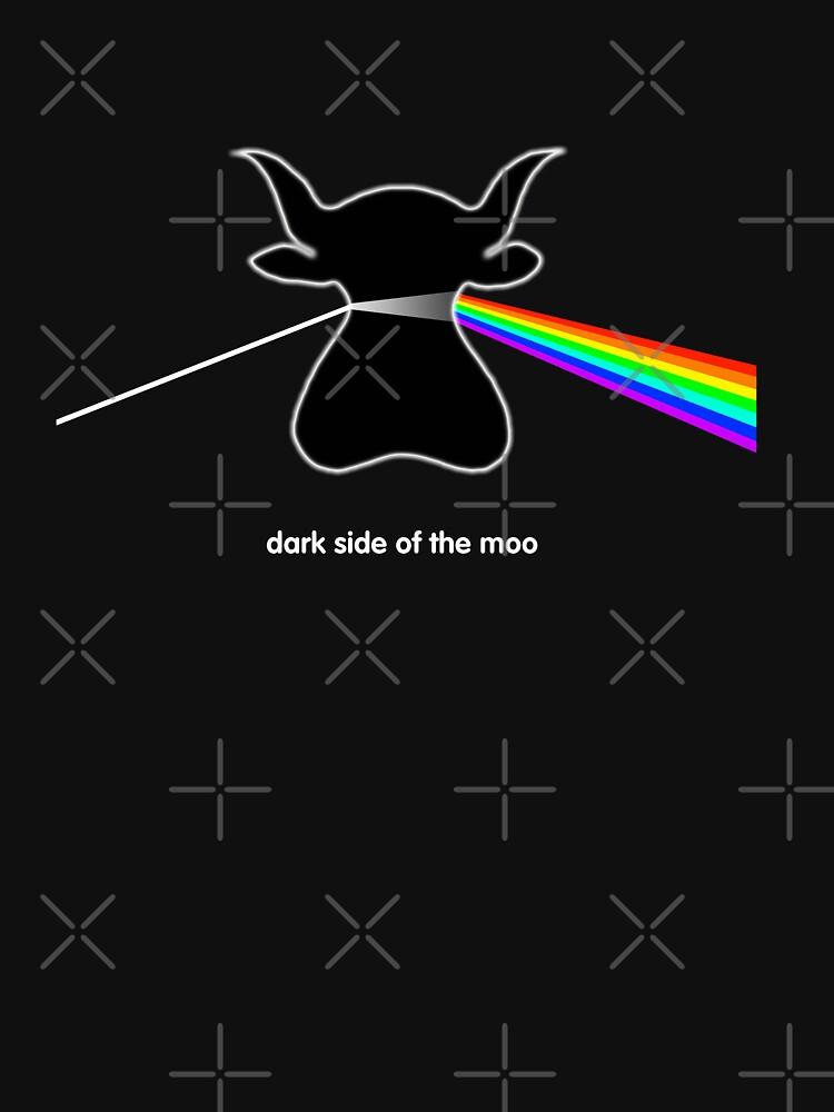 Dark Side of the Moo - T shirt | Unisex T-Shirt