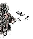 Temper temper Mr Lion by Jenny Wood