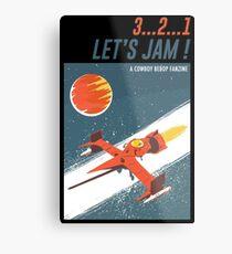Let's Jam - Cowboy Bebop Metal Print