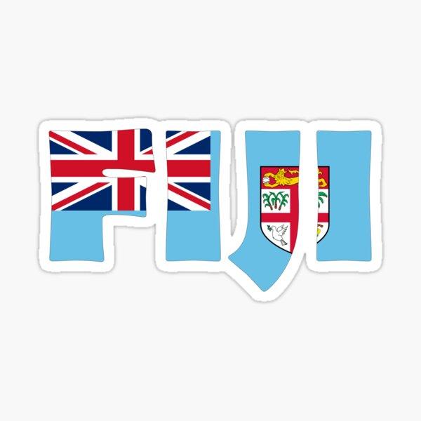 Fiji Sticker
