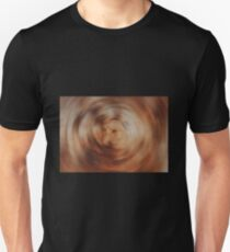 Orange Circular Blur Unisex T-Shirt