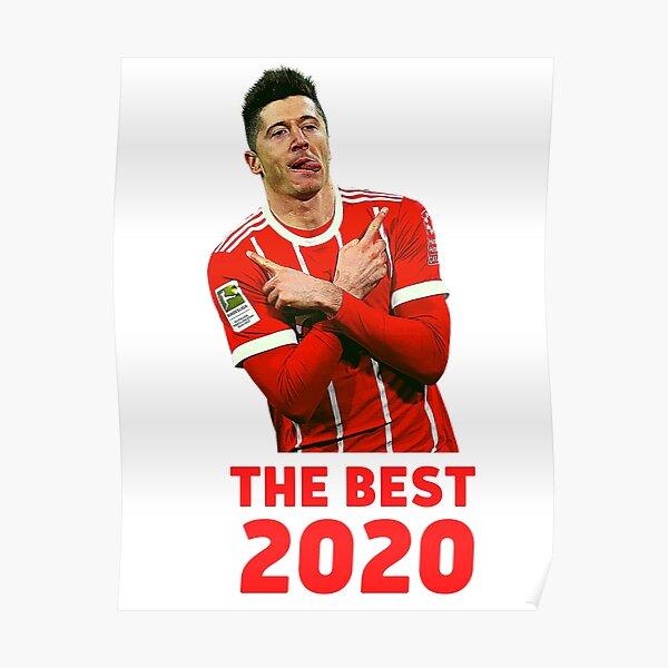 Robert Lewandowski THE BEST FIFA MEN'S PLAYER 2020 Poster