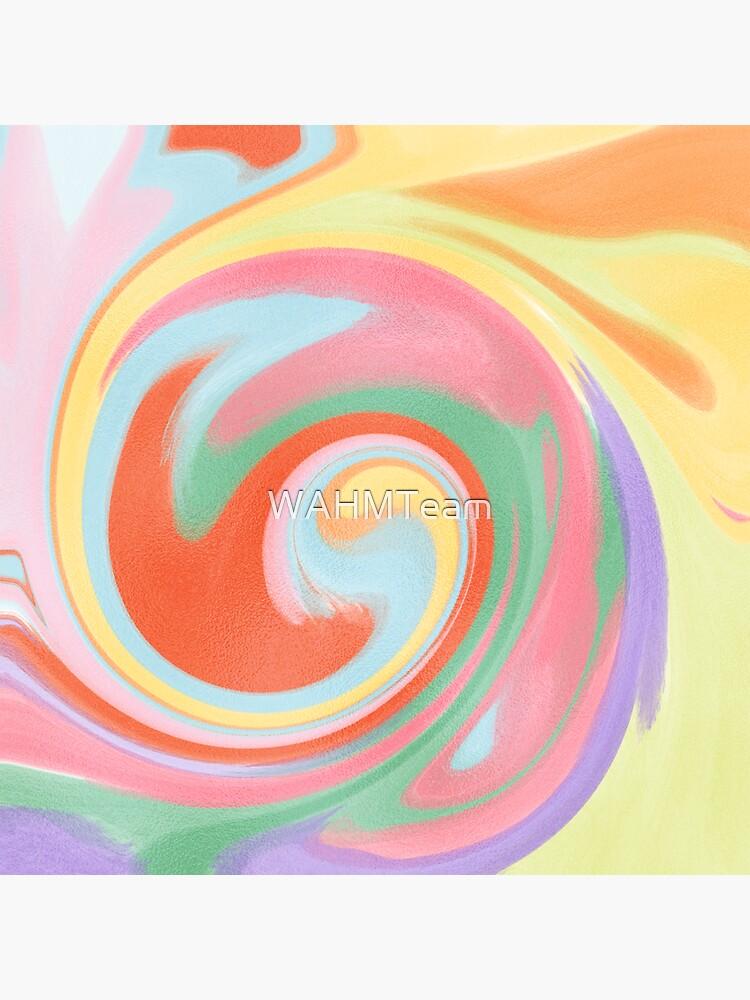 Rainbow Swirl Pattern by WAHMTeam