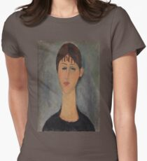 Amedeo Modigliani - Portrait of Mme Zborowska 1918 Woman Portrait Italian Fashion  T-Shirt