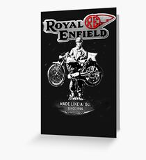 ENFIELD.. Greeting Card