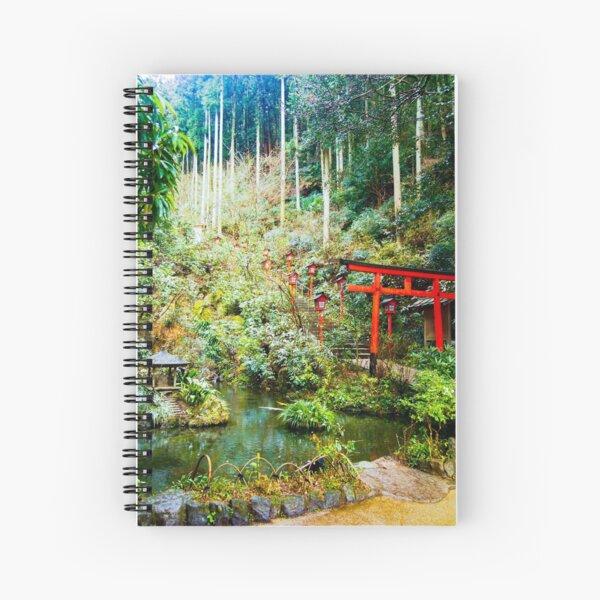 Nanzoin Temple, Fukuoka Spiral Notebook