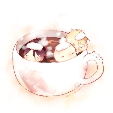 hot cocoa - OPN cheebs by Rainbronii