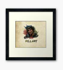 Bellamy - The 100 Framed Print