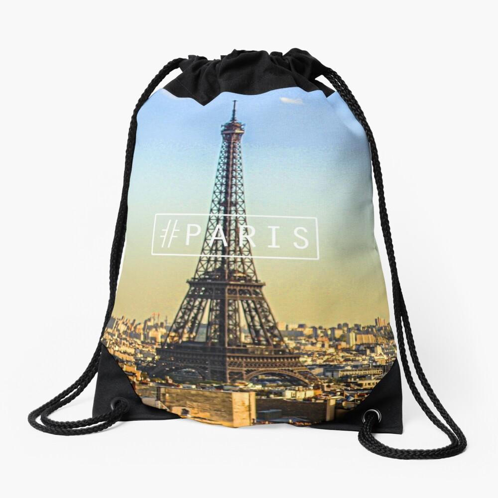 -PARIS- Drawstring Bag