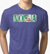 Irish NOLA Street Tiles  Tri-blend T-Shirt
