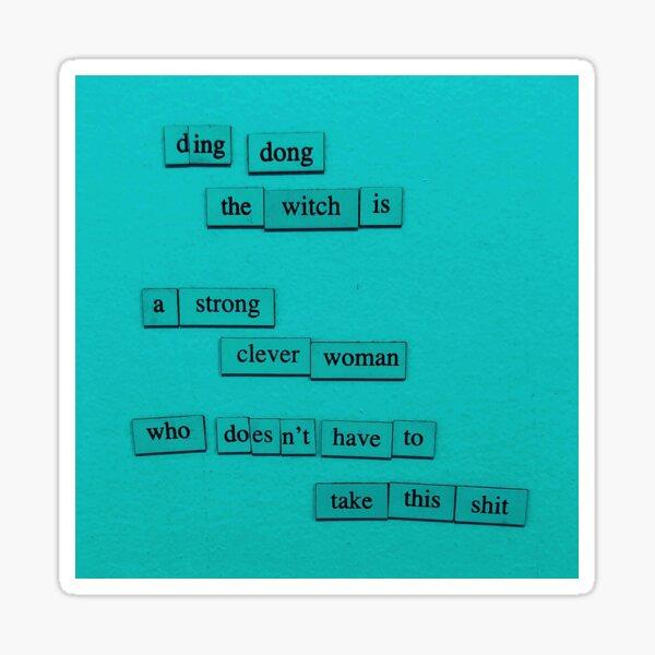 Ding Dong Sticker
