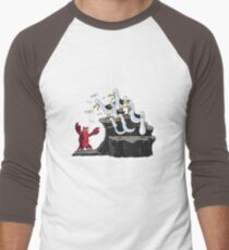 The crab is mine! Men's Baseball ¾ T-Shirt