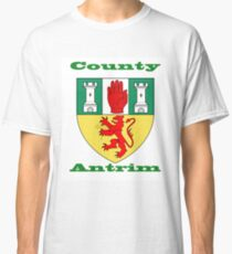 County Antrim Coat of Arms Classic T-Shirt