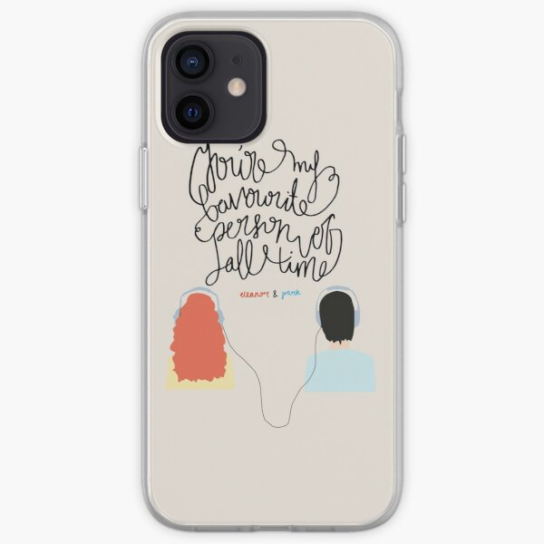 """""""You're my favourite person of all time"""" iPhone Soft Case"""