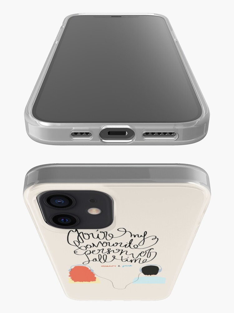 """Alternate view of """"You're my favourite person of all time"""" iPhone Case & Cover"""