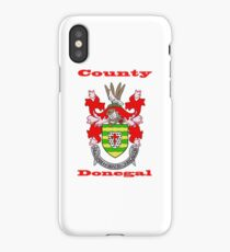 County Donegal Coat of Arms iPhone Case/Skin
