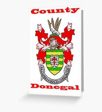 County Donegal Coat of Arms Greeting Card