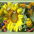 Sunflower party by NadineMay