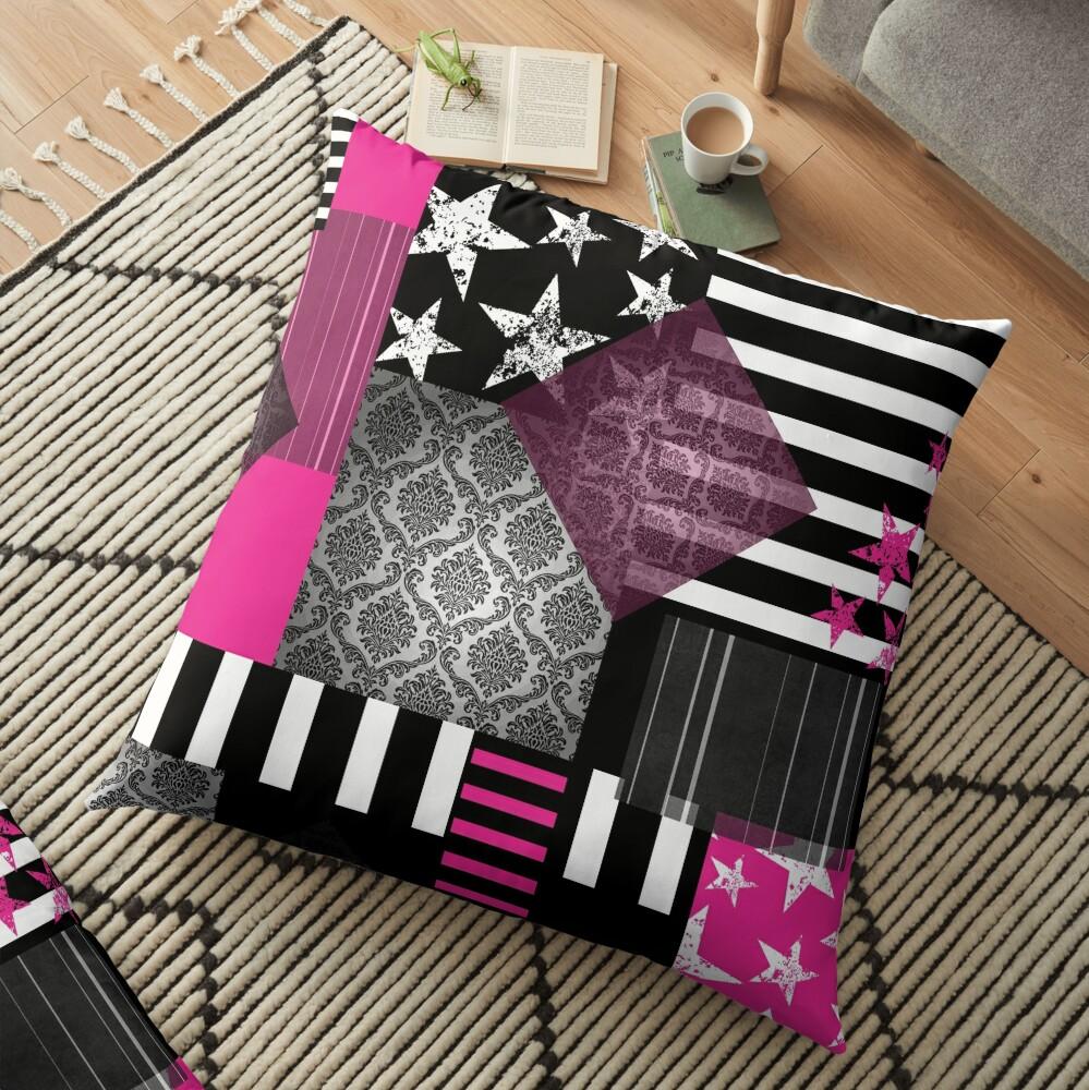 Grunge Pop Floor Pillow