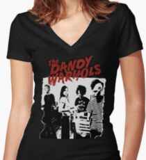 The Dandy Warhols T-Shirt Women's Fitted V-Neck T-Shirt