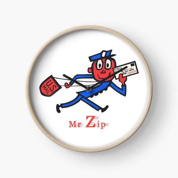 Mr Zip Clock