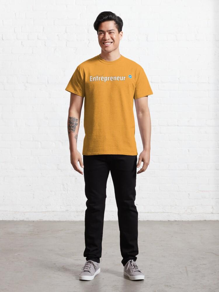 Alternate view of Verified Entrepreneur Classic T-Shirt