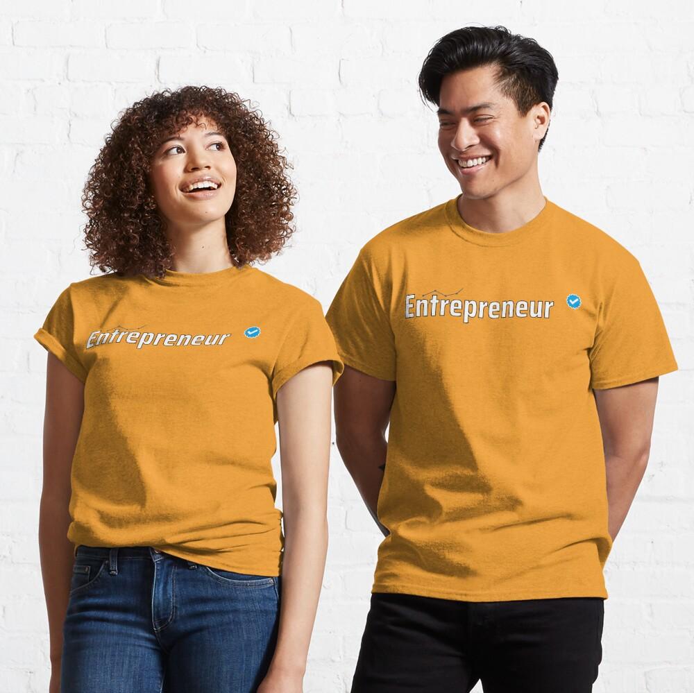 Verified Entrepreneur Classic T-Shirt