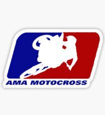 AMA motocross superbikes motorbike heather Sticker