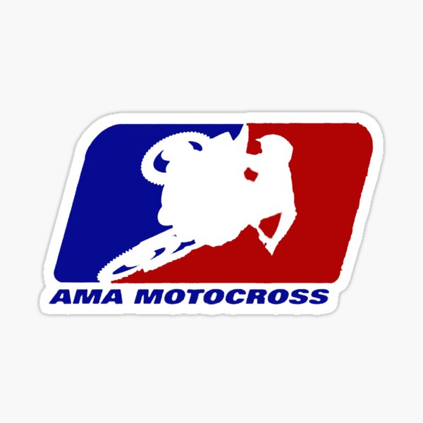AMA motocross superbikes motorbike heather Sticker