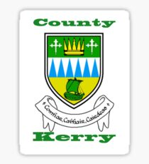 County Kerry Coat of Arms Sticker