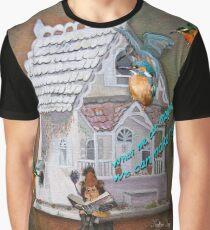 The Leprechaun Reader Graphic T-Shirt